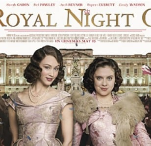 Samantha Baines has a Royal Night Out