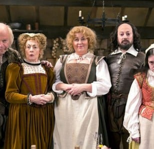Upstart Crow: star-studded, silly Shakespeare