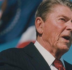 Reagan: a comedy taboo?