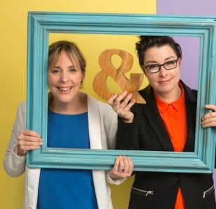Mel & Sue reunite for the Generation Game
