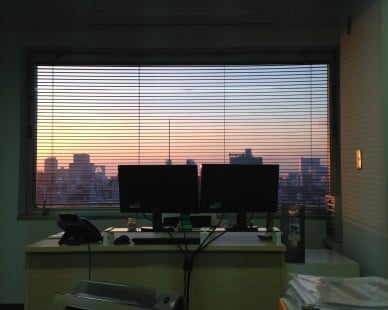 The Office Sunset Blues