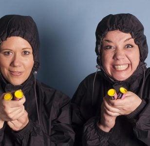 The Kagools win the Amused Moose Comedy Award