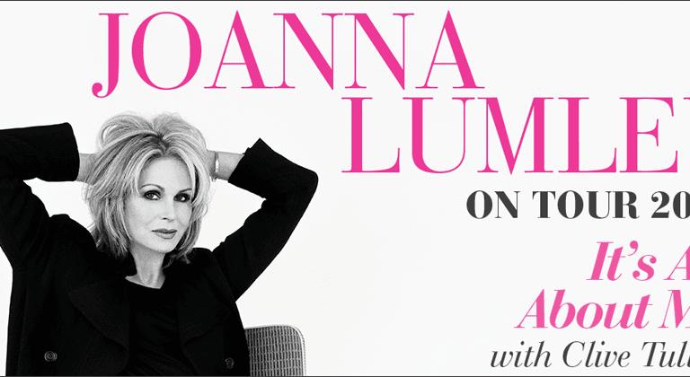 Joanna Lumley tour tickets on sale!