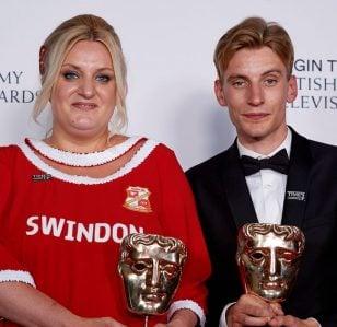 Bafta wins for women in comedy!