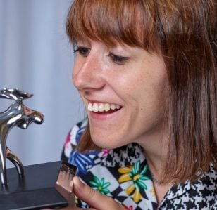 Maisie Adam Wins Amused Moose Award