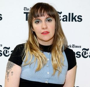 Lena Dunham admits she lied about having insider information on Aurora Perrineau