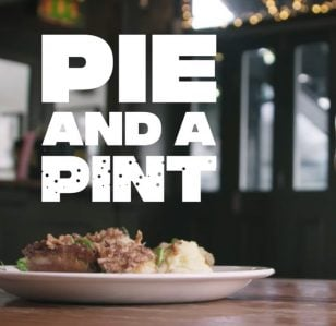 Comedy Central invite Comedians to share a Pie and a Pint