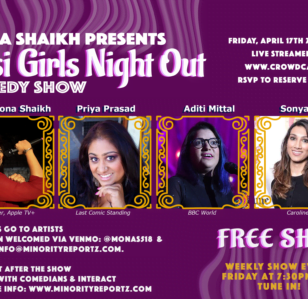 Desi Girls Night Out with Mona Shaikh Q&A