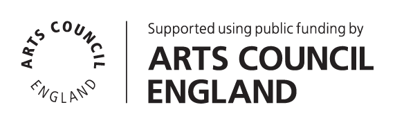 Supported using public funds by Arts Council England